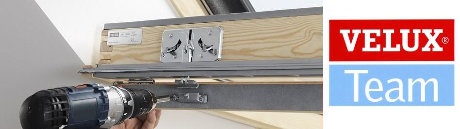 Oprava, servis a údržba střešních oken Velux. Montáž, oprava žaluzií a rolet Velux.